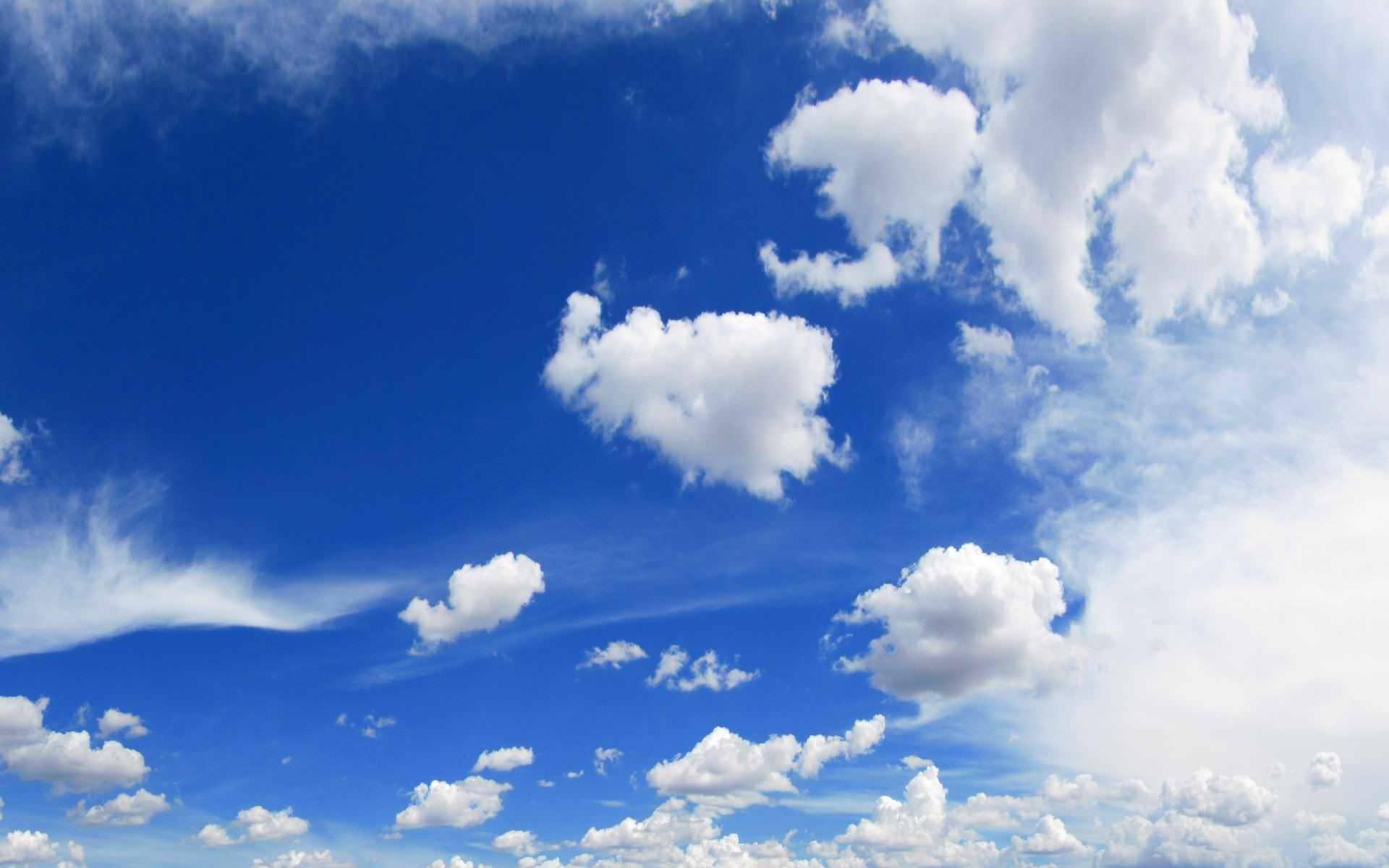 plano de fundo ceu e nuvens
